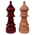 Large Wooden Chess Piece - Bishop (A-8b)