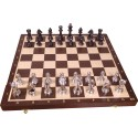 Tournament Silver Chess No. 6 / Inlaid / Wenge (S-176)