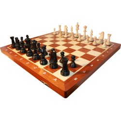 Staunton No. 6 Wooden chess pieces (S-174)