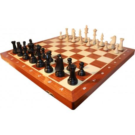 Staunton No. 6 Wooden chess pieces (S-174)