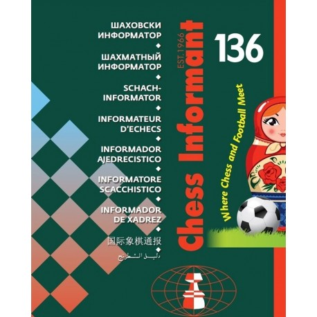 Chess Informant 136 Paperback (K-353/136)