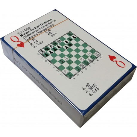 52 Chess Memory Cards (A-118)