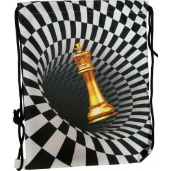 Shoulder bag with chess motif (A-111)