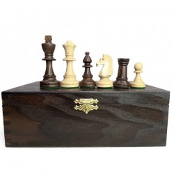 Staunton No. 4 - Extra Chess Pieces in wooden box (S-1/III/k)