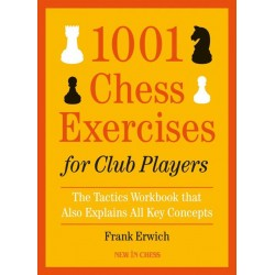 "Frank Erwich - ""1001 Chess Exercises for Club Players"" (K-5639)"