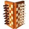 Magnetic Wooden Chess ( S-21/BHB )