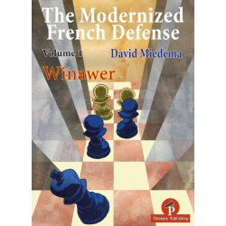 "David Miedema - ""The Modernized French Defense - Volume 1: The Winawer"" (K-5641)"