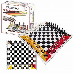 QuadroChess and Checkers (S-66)
