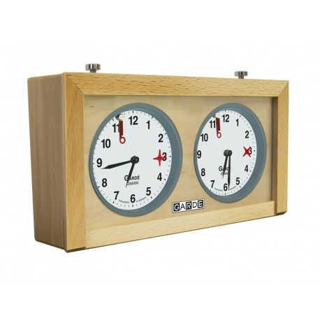 GARDÉ Classic - analogue wooden chess clock (ZS-31)