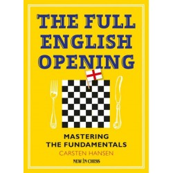 The Full English Opening. Mastering The Fundamentals - Carsten Hansen (K-5427)