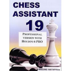 Chess Assistant 19 with Houdini 6 PRO DVD (P-491)