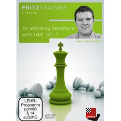 Attacking Repertoire with 1.d4! Vol. 1 by Nicholas Pert (P-0055)