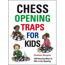 """G. Burgess """"Chess Opening traps for kids"""" (K-5607)"""