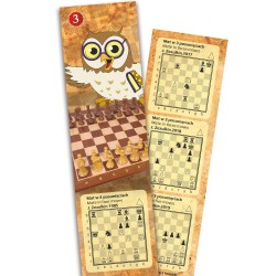 Book tab with chess puzzles vol. 3 (A-119)