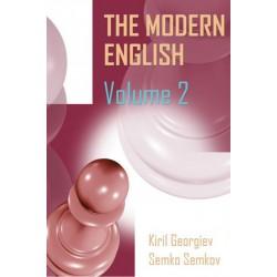 Kiril Georgiev, Semko Semkov - The Modern English Volume 2: 1.c4 c5, 1...Nf6, 1...e6 (K-5563/2)