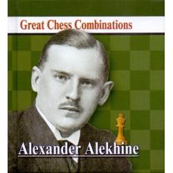 A. Kalinin - Alexander Alekhine - Great Chess Combinations - pocket format 9.5 x 9.5 cm (K-5730)