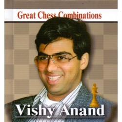 A. Kalinin - Vishy Anand - Great Chess Combinations - pocket format 9.4 x 8.7 cm (K-5741)