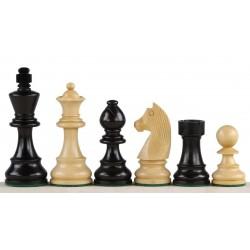 "Chess pieces Staunton No. 5 ""German"" black - (S-24 / cz)"