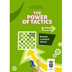 The Power of Tactics - Vol. 2: Become a Tactical Wizard - Adrian Mikhalchishin, Tadej Sakelsek (K-5774)