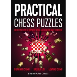 Practical Chess Puzzles: 600 Positions to Improve Your Calculation and Judgment - D. Lin, E. Song, G. Song (K-5779)