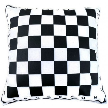 Pillow with chessboard motif (A-130)