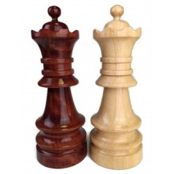 Large Wooden Chess Piece - Queen (A-8a)