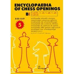 ENCYLOPAEDIA CHESS OPENINGS BI B 00-B 49 (5 edition 2020) (K-5941)