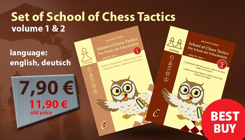 Set of School of Chess Tactics