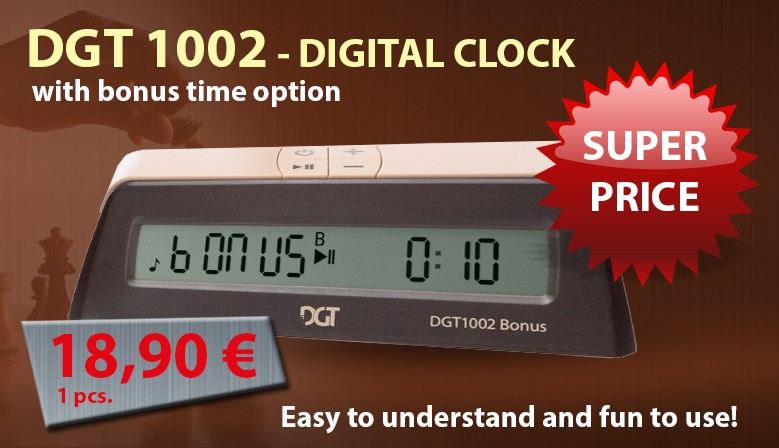 Digital Clock DGT-1002