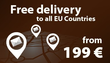 Free delivery to all EU Countries from 199 €